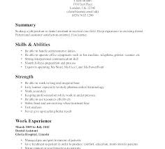No Work Experience Resume Examples Of Resumes With Little Sample