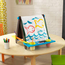 Kidkraft Easel Desk Espresso by Tabletop Easel Espresso With Brights