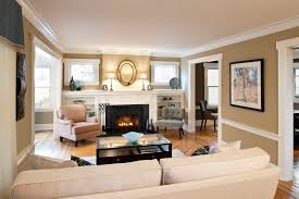 Living Room With Fireplace Design by From Carol Donayre Bugg Vice President Of Design Decorating Den