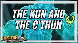 Hearthstone Decks Druid Combo by Hearthstone Combo Deck The Kun And The C U0027thun Youtube