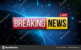 Creative Vector Illustration Of World Live Breaking News TV Channel Show Broadcast Art Design Business Technology Background