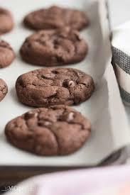 4 Ingre nt Chocolate Cookies chocolate cake mix cookies VIDEO