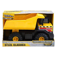 Tonka Classic Dump Truck | Toys R Us Canada Tonka Classics Mighty Dump Truck Toughest Large Metal Sandpit Classic Front Loader Online Toys Australia Amazoncom Wader Trailer And Toy Set By Polesie Tonka Steel Toughest Mighty Dump Truck R Us Canada Sdupertoybox Dumptruck Funrise Distribution Company 90667 Steel Cstruction Vehicle For Model Northern Play Vehicles Upc Barcode Upcitemdbcom Toyworld