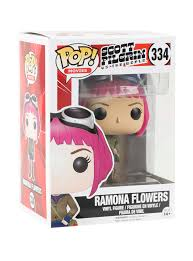 Ramona Pumpkin Patch by Funko Scott Pilgrim Vs The World Pop Ramona Flowers Vinyl Figure