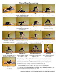 Heres A Lovely Slow Flow Yoga Sequence Created By Leena Miller Cressman At Queen Street In Canada This Vinyasa Flowing Will Gently Stretch