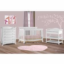 Storkcraft Dresser Change Table by Storkcraft 3 Piece Nursery Set Venetian Convertible Crib Aspen