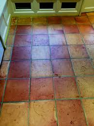 top large terracotta floor tiles modern rooms colorful design