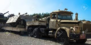 100 Contractor Truck And Trailer With Sherman Hull Monsterlive