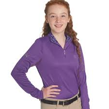 riding shirts for girls by ovation