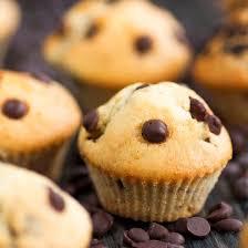dessert aux oeufs rapide recette muffins aux pépites de chocolat sans oeuf