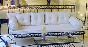 fabricant canapé en fer forgé siège banc banquette magasin