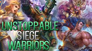 nike siege all warrior siege season 4 nike build siege gameplay smite