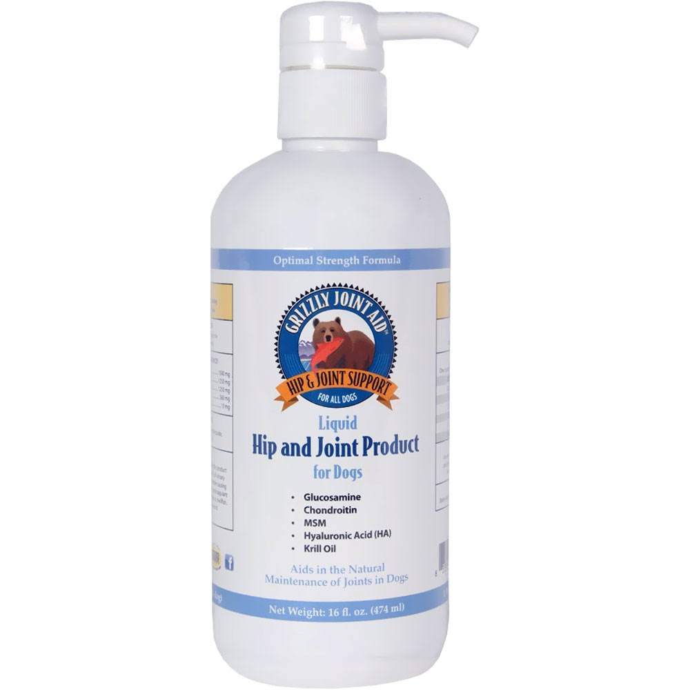 Grizzly Pet Products Joint Aid Liquid for Dogs