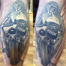 Sport Motorcycle Tattoo Ideas For Guys