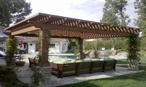 Backyard Pergola Ideas | Decor References Backyard Pergola Ideas Workhappyus Covered Backyard Patio Designs Cover Single Line Kitchen Newest Make Shade Canopies Pergolas Gazebos And More Hgtv Pergola Wonderful Next To Home Design Freestanding Ideas Outdoor The Interior Decorating Pagoda Build Plans Design Awesome Roof Roof Stunning Impressive Cool Concrete Patios With Fireplace Nice Decoration Alluring