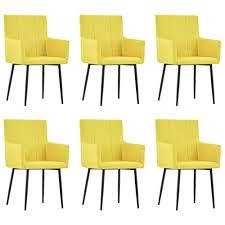gelb teraves esszimmerstuhl 2er set büro lounge wohnzimmer