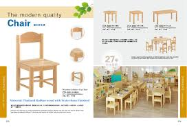 [Hot Item] School Classroom Student Chair, Kids School Desk Chair,  Kindergarten Children Multi-Function Table Chair, Solid Wooden Baby Chair