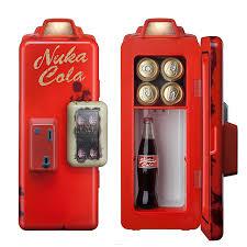 nuka cola machine mini refrigerator