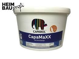 details zu innenraumfarbe caparol capamaxx 12 5 l weiß premium farbe stumpfmatt 6 11 l
