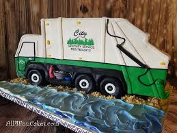 100 Garbage Truck Cakes Sculpted Retirement Cake By All4Fun LLC 2018