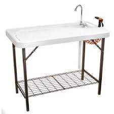 Fish Cleaning Table With Sink Bass Pro by Tricam Fish And Game Table With Quick Connect Stainless Steel