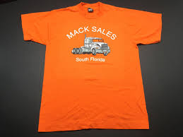100 Mack Truck T Shirts Vintage 90s S Tshirt Mens L Fits M South Florida Etsy