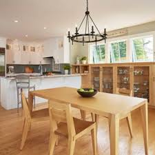Inspiration For A Mid Sized Farmhouse Medium Tone Wood Floor And Brown Kitchen