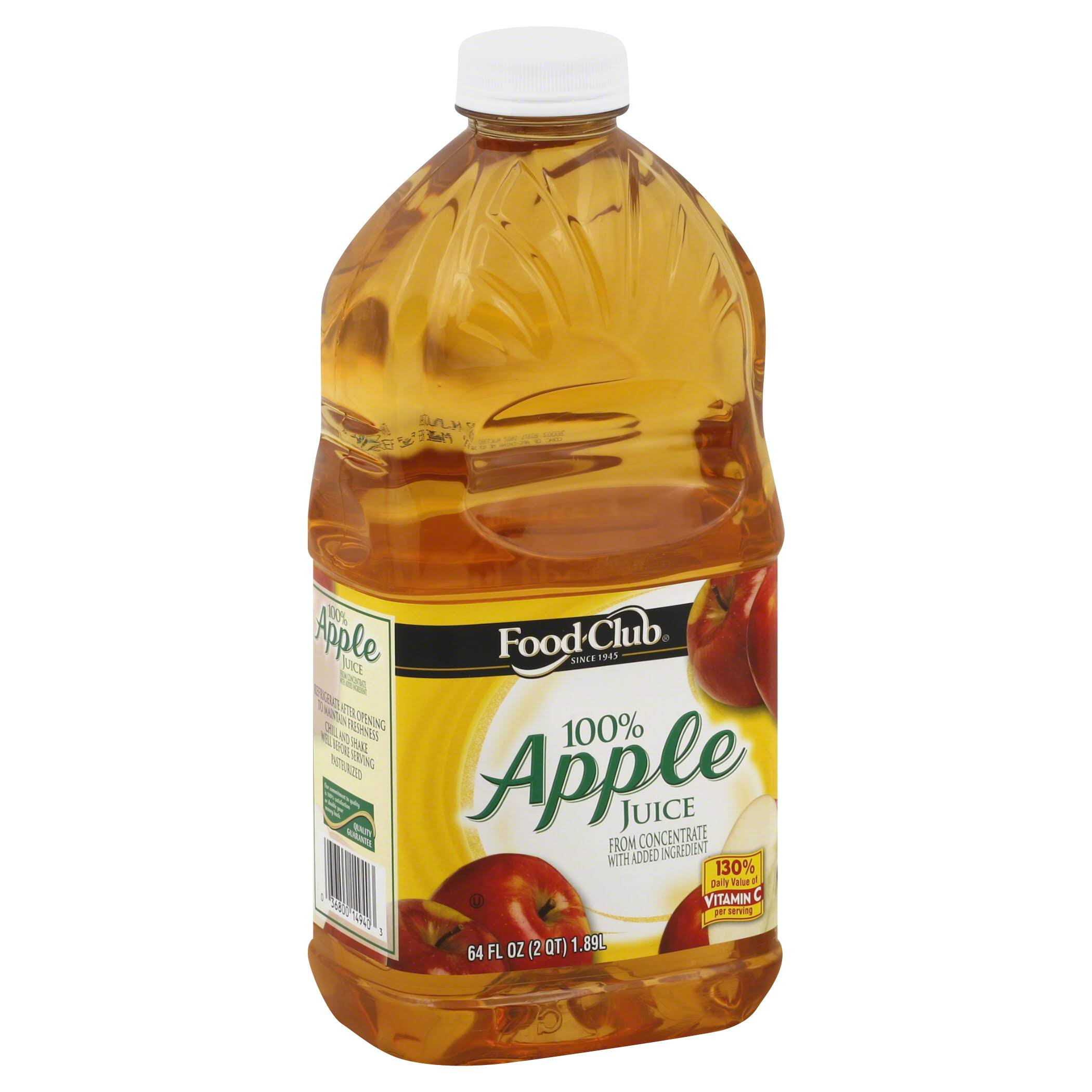 Food Club 100% Juice - Apple