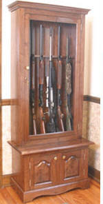 how to build a gun u0026 rifle cabinet 7 free plans