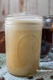 Sugar Free Coffee Creamer Low Carb THM FP Trimhealthymama Thm
