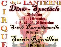 dîner spectacle réveillon 31 décembre lanterne magique