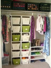 Closet Storage Ideas Idea I Like How Simple It Is But Keeps Everything