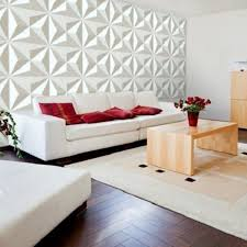 Decorative 3D Wall Panels Textured Wall Design Board Pack of 12 Tiles 32 Sq Ft TV Sofa Background Living Room Decoration Easy To Install