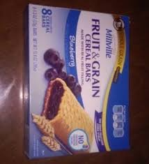 Fruit Grain Cereal Bars Come In A Few Flavors Blueberry Strawberry Wild Berry And Apple Cinnamon I Dont Seem To See The Flavor As