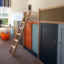 Built In Bunkbed Storage A Boys Room