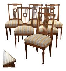 Set Of 6 Dining Chairs Louis XVI Walnut Wood And Seat Covered With Fabric Ding Chairs Fding Your Perfect Fit Neptune Stylish Room Decorating Ideas Southern Living Virtual Home Makeover Testing Modsy Havenly Ikea On My Spectacular Sales For Inkivy Nola Chairs Set Of 2 Outdated Trends Fniture Old School Styesolid Teak Wood 4 Chairwith Variety Color Buy Antique Chairsoldschool Table Setfarming The Problem With Joybirds Affordable Midcenturymodern How To Mix Tones In Your Home Advice 55 Best Designs Rainbow Table 2019 Kitchen Tips Mixing Finishes Decor