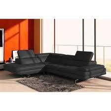 canapé sofa italien canapé d angle en cuir italien 6 places birkin achat vente
