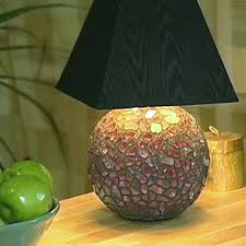 How To Make A Mosaic Lamp