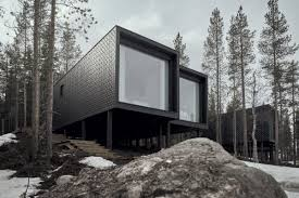 100 Tree House Studio Wood Arctic Hotel ArcticScene Suites Puisto