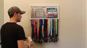Runners Medal Display Hanger