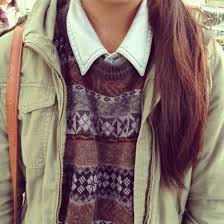 Sweater Blue Shirt Jumper Aztec Coat Green Winter Outfits Warm Blouse