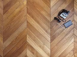 Prefinished Wooden Parquet SOLID TEAK