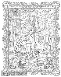 Harry Potter Magical Creatures Coloring Book Get A Sneak Peek At Exclusive