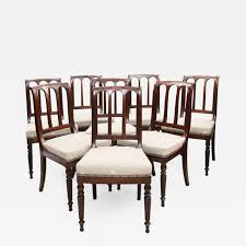 Joseph Pierre-Francois Jeanselme - SET OF EIGHT EARLY 19TH ... Antique Set 10 Victorian Mahogany Balloon Back Ding Chairs 19th Of Six Century French Louis Xvi Cane Dutch Marquetry Inlaid Of 6 Legacy 12 Ft Flame Table 14 Chairs Room In Stock Photos Chairsgothic Chairsding Chairsfrench Fniture Single 2 Arm Late Hepplewhite Style Camelback 18th Walnut Chair With Queen Anne Legs English Cira 4 Turn The Century Ding In Wallasey Merseyside Gumtree 9776 Early Regency Vinterior