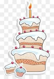 Cartoon birthday cake Stock Image Birthday Cake Birthday Creative Cakes PNG Image
