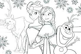 Princess Coloring Pages Printable Frozen Ideas Disney Christmas