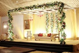 Image Of Asian Wedding Stage Decoration Leicester