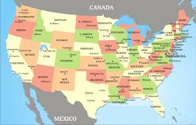 United States Map With Us State Capitals And Major Cities World Maps Cool Of Usa High