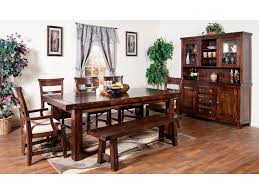 Sunny Designs Dining Room Vineyard Extension Table 1316RM Tip