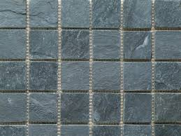 Imperial Black Slate Riven Mosaic